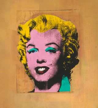 Marilyn Monroe, by Andy Warhol @ Museum of Modern Art, NY