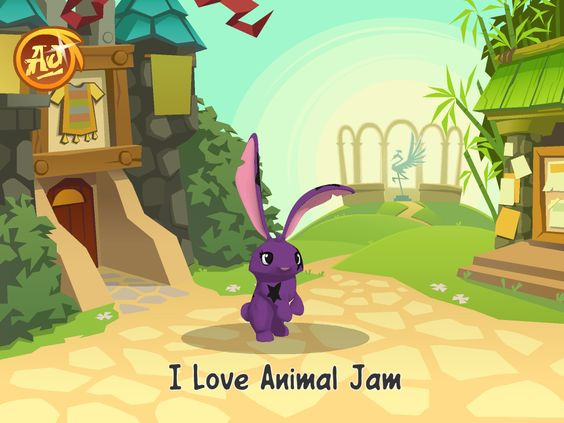 My animal jam picture