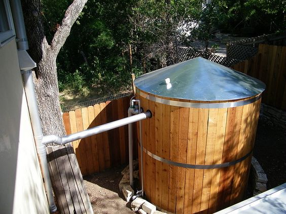 Rainwater Collection Cistern - Know how much water you want to use and whether or not you need a treatment solution to go with your cistern.: