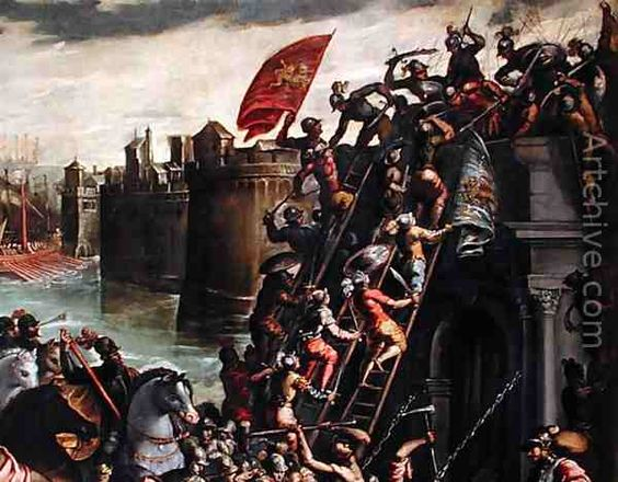 Siege Of Zara Croatia The First Major Battle Of The Fourth - Major battles of the crusades
