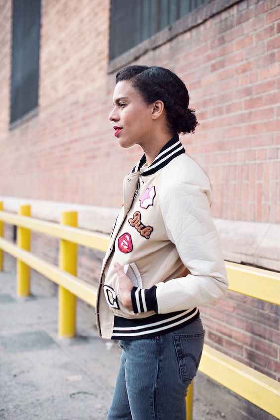 Varsity Jacket By Style  Me Grasie