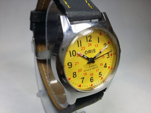 Image result for vintage oris watches