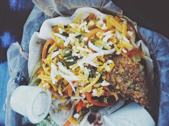 Fried Avocado Taco at Torchy's Tacos #Houston #Texas #Food #AdventuresInANewishCity