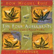 """Rooted in traditional Toltec wisdom beliefs, four agreements in life are essential steps on the path to personal freedom. As beliefs are transformed through maintaining these agreements, shamanic teacher and healer don Miguel Ruiz asserts lives will """"become filled with grace, peace, and unconditional love."""""""