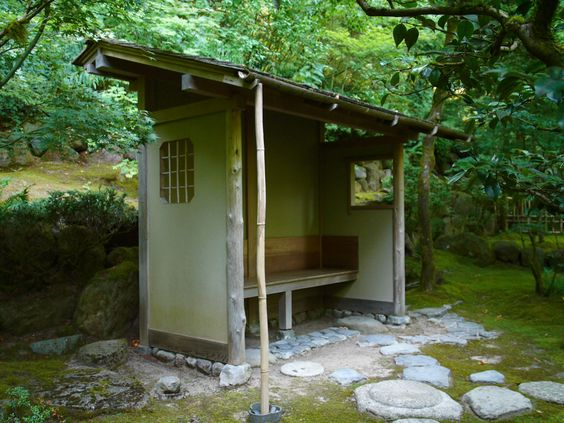 Meditation hut cabins lean tos shelters sheds pinterest gardens meditation and oregon - Garden sheds oregon ...