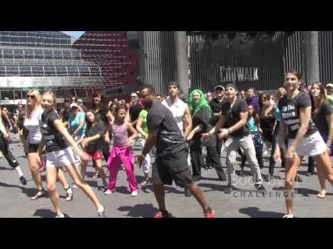 The Flash Mob World Record was broken with same exact dance, on the same exact day, the same exact time, in hundreds of cities across United States and Canada!