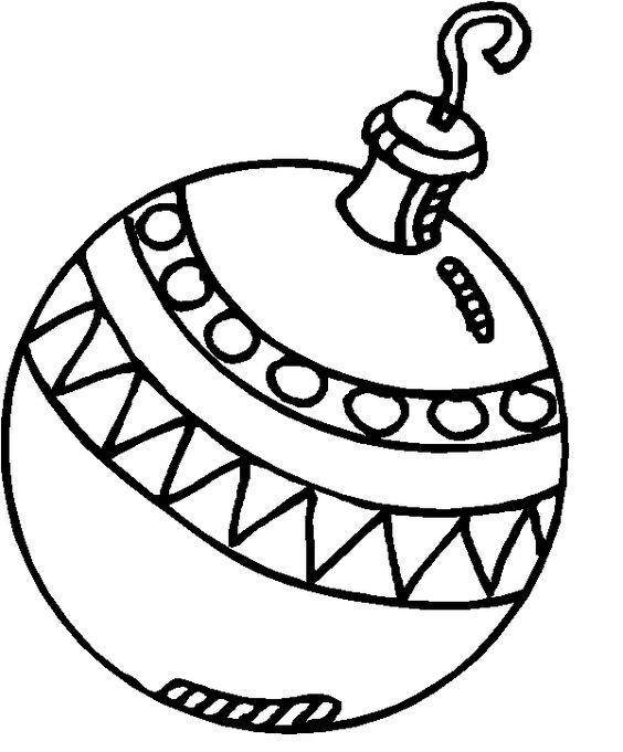 Dibujos para colorear de bolas de navidad plantillas para - Dibujos navidenos para ninos ...