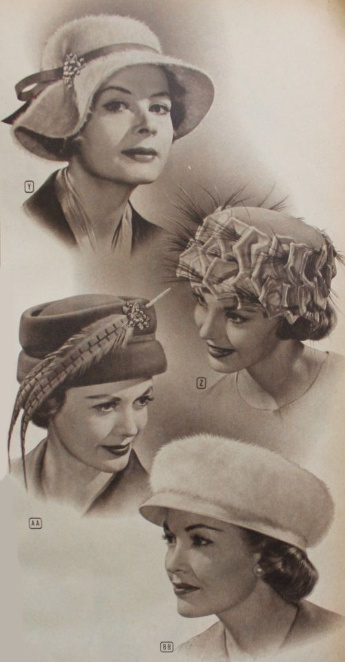 1950s Womens Hats By Style Hats For Women Hats Vintage Korean Fashion Trends