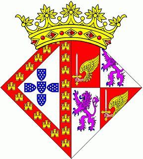 Heráldica Real Portuguesa: Armas de D. Constança  Manuel