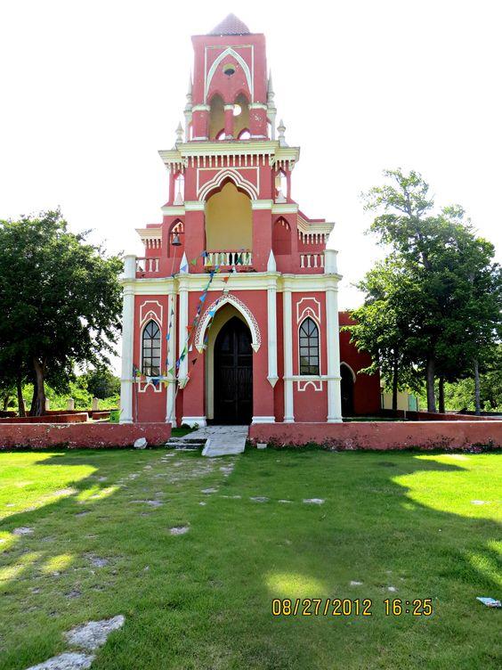 HACIENDA SAN IGNACIO MUNICIPIO DE PROGRESO GOTHIC CHURCH | YUCATAN MEXICO