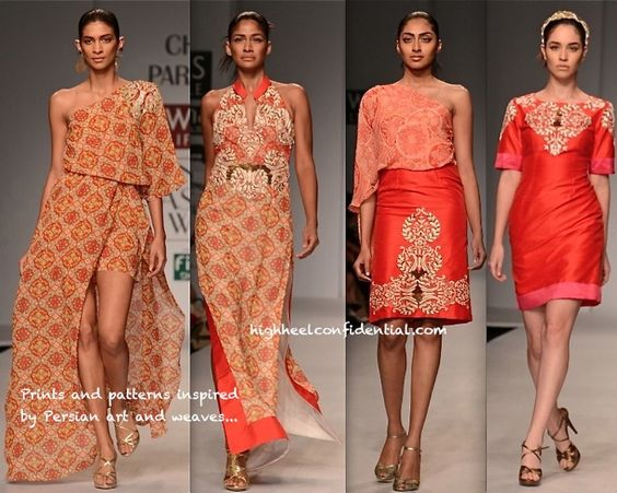 India Fashion Week S/S 2014: Charu Parashar : High Heel Confidential