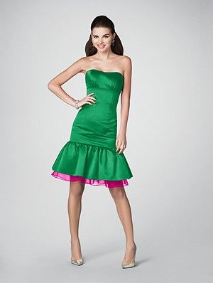 Pretty sure this dress will b the bridesmaids; just npt sure what my colora will be