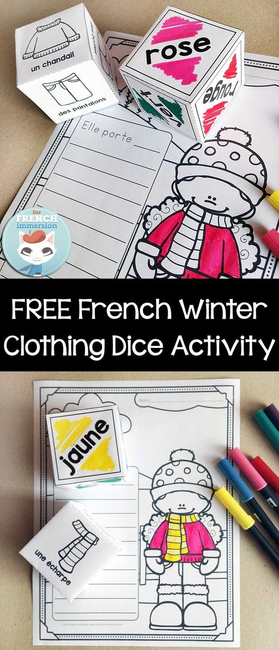 Language good ideas and chang 39 e 3 on pinterest - Les vetements d hiver ...
