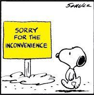 November 12, 1982 - Sorry for the inconvenience | Charles ...