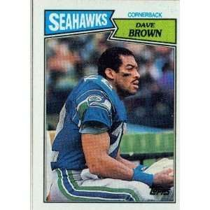 #1 FS #12 Seahawk Dave Brown 19761986