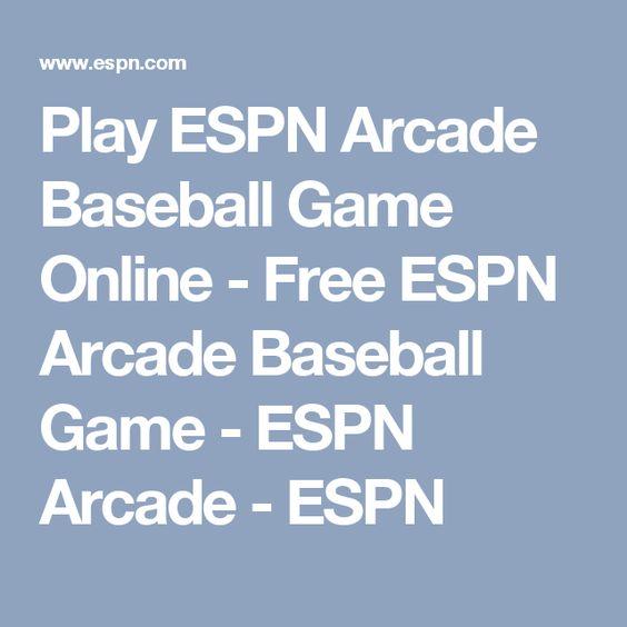 Play ESPN Arcade Baseball Game Online - Free ESPN Arcade Baseball Game - ESPN Arcade - ESPN