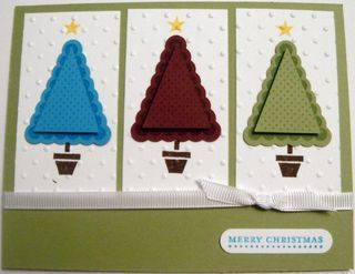 Petite Pennants Builder punch: Christmas Cards, Featuring Petite, Ideas Christmas, Paper Stuff, Builder Punch, Card Ideas, Pennants Punch, Pennants Builder