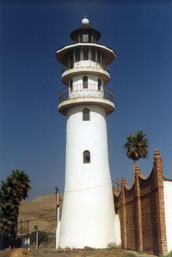 Lighthouse at Cantamar, Baja California Peninsula. - GREAT EXAMPLE- just add…