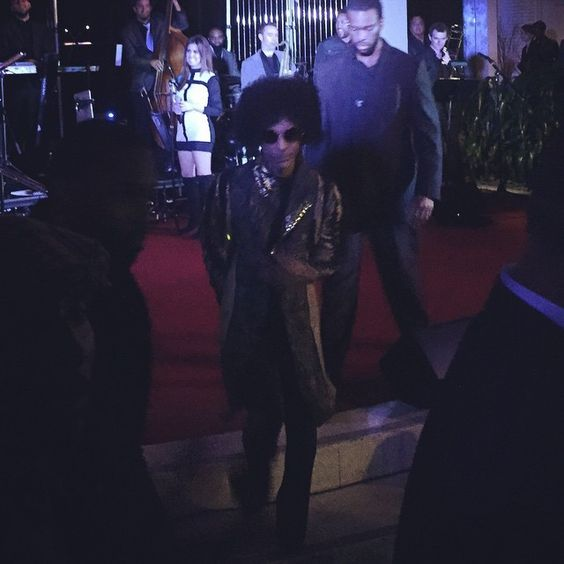 Prince has left the building! ~ The W ~ Hollywood, Ca ~ 11/30/2014