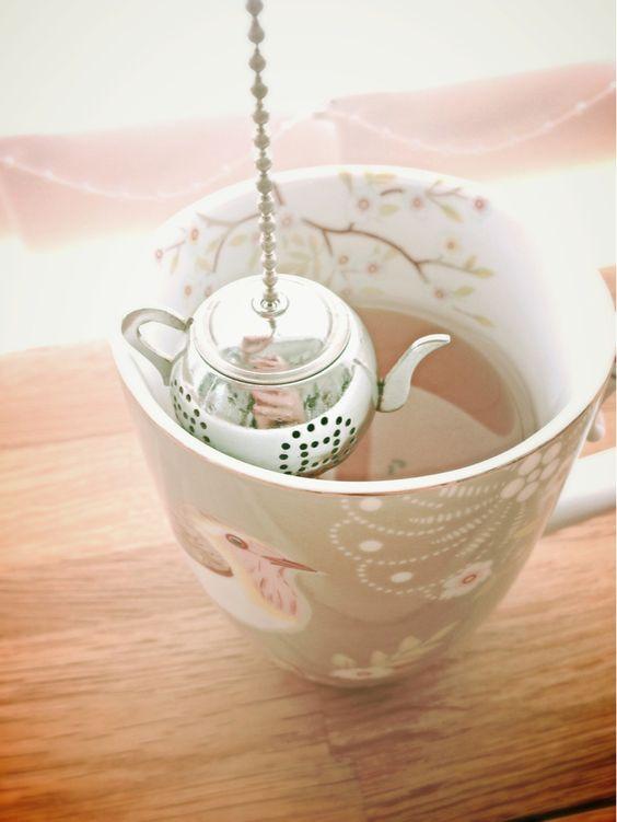 Chá da tarde despojado. Veja…