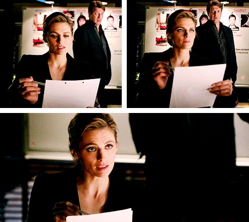 """Castle: """"You're not still mad about me about the cup.""""  Beckett: """"I'm not?""""  6x18"""