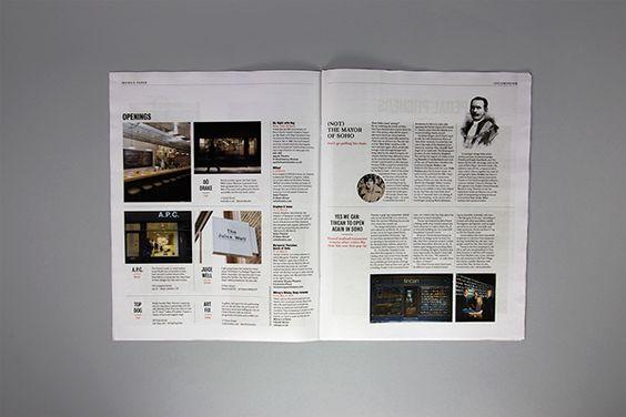 Editorial newspaper / diario / periódico.