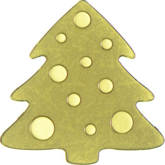 1 Dollar Gold Goldener Christbaum UN