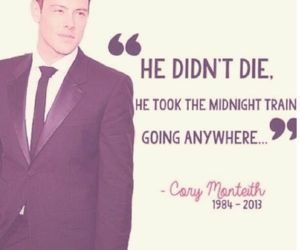 This was my first favourite Glee cover<3 RIP Cory<3 luv ya cory...still cant believe ur gone bt yu will never be forgotten..