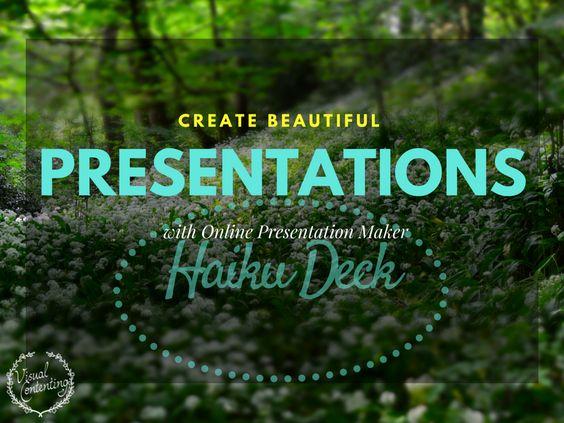 Create Beautiful Presentations with Online Presentation Maker Haiku Deck