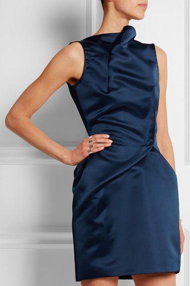 Roland Mouret | Zonda satin dress | NET-A-PORTER.COM