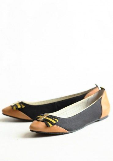 You Rebel Flats In Black By Poetic Licence