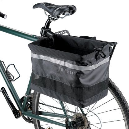 Transit Metro Grocery Pannier Bike Packs Bike Racks Wheels