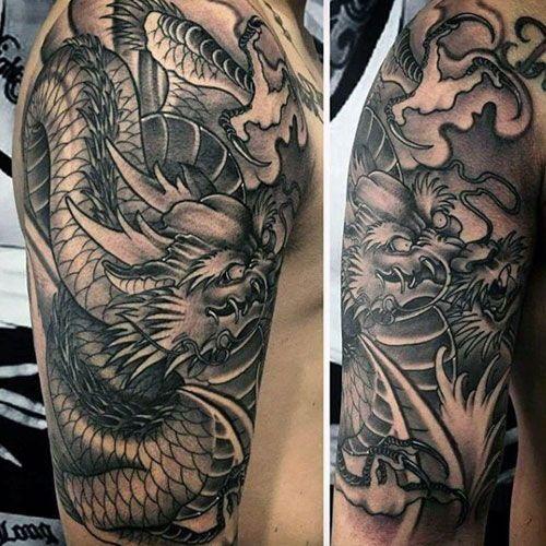 101 Best Dragon Tattoos For Men Tattoos For Guys Dragon Tattoo Dragon Tattoos For Men