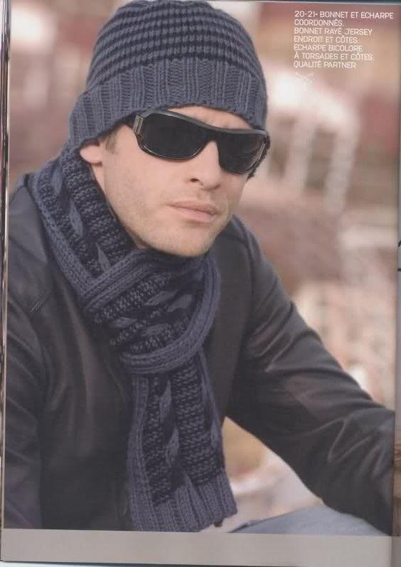 Gorros tejidos a crochet para hombre patrones , Imagui