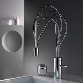 Single Handle Chrome Centerset Bathroom Sink Tap (Cold and Hot Switch) T0458 (kitchen taps-http://www.mytap.com.au/kitchen-taps-c-30.html)