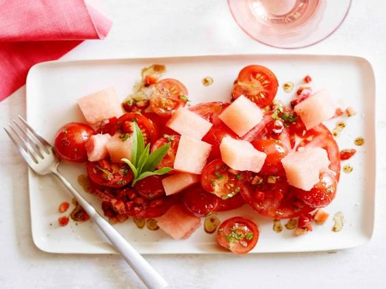 Alex's Tomato and Watermelon Salad