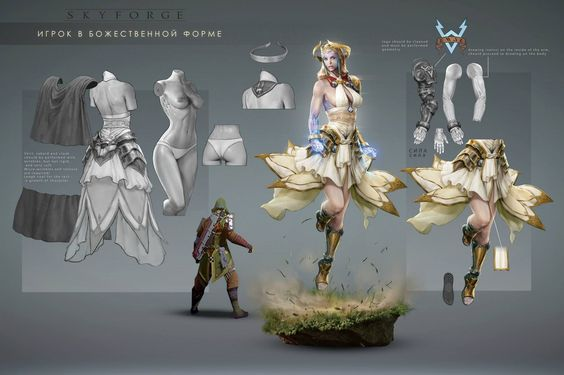 how to create a new character on skyforge