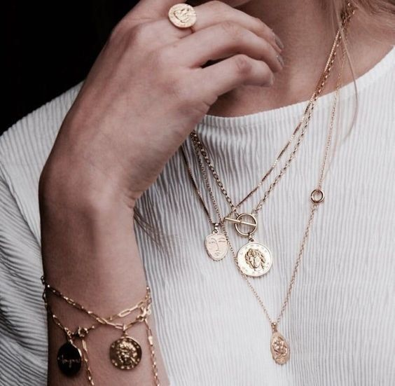 Necklaces | Bracelets | Ring | Jewelry | Inspo | More on Fashionchick