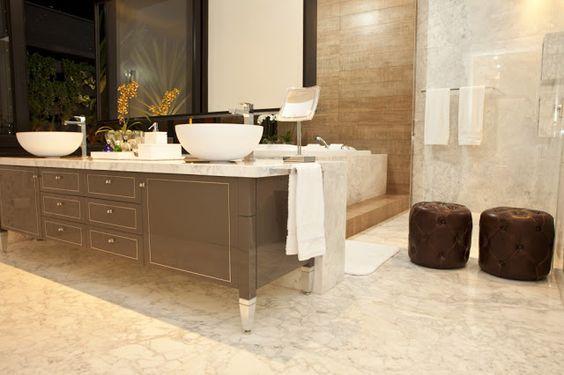 Banheiros com armários clássicos - veja modelos com essa tendência! - Decor Salteado - Blog de Decoração e Arquitetura