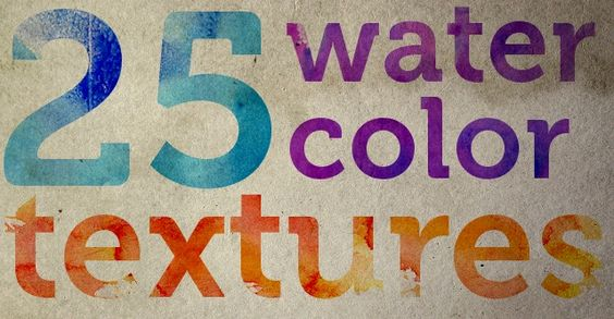 Free High Resolution Textures - Lost and Taken - 25 Free, High-Res WatercolorTextures