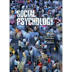 Social Psychology (12th Edition), co-authored by Letitia Anne Peplau, CSW Affiliated Faculty Member