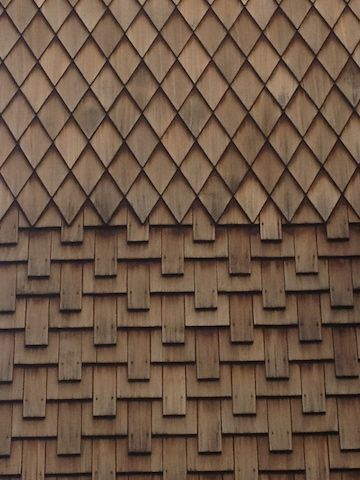 Pin By Elk Com On The Wood Shingle Roof In 2020 Wood Facade Wood Shingle Siding Wood Shingles