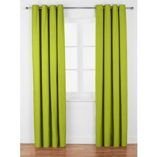 Green Curtains apple green curtains : Buy ColourMatch Lima Ring Top Curtains - 117x137cm Apple Green at ...