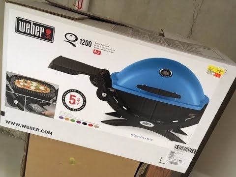Weber Q 1200 99 00 Gas Grill Review And Assembly Awesome Youtube In 2020 Gas Grill Reviews Gas Grill Grilling