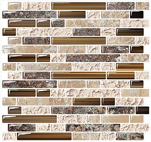 Shop For Yipscazo Peel Stick Backsplash Tile Kitchen Kitchen Backsplash Peel Stick Sandstone 10 Sheets 10 X10 Online Top10popstore In 2020 Kitchen Backsplash Peel And Stick Peel N Stick Backsplash Tile Backsplash