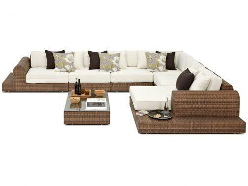 Furniture Range - Large Outdoor Corner Sofa Set ...