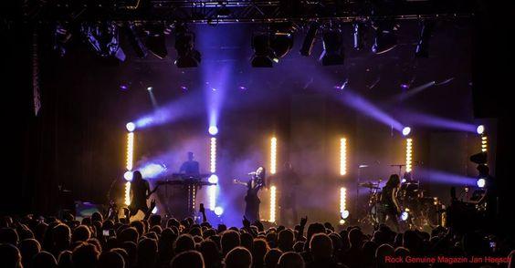 Tarja Turunen and her band: Alex Scholpp, Max Lilja, Tim Shreiner, Kevin Chown and Christian Kretschmar live at Batschkapp, Frankfurt, Germany. The Shadow Shows, 12/10/2016 #tarja #tarjaturunen #theshadowshows #tarjalive PH: Jan Heesch for https://web.facebook.com/rockgenuine/