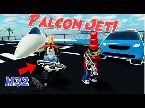 Start Off With The Super Rocket Launcher Roblox Mad City M32 Update Roblox Falcon Bomber Jet Grenade Launcher Smart Car Police Cruiser Tear Youtube Roblox City Hacks Video Roblox