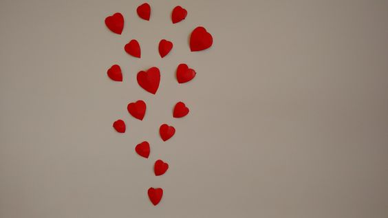 Paper craft- How to make 3D heart for wall decoration
