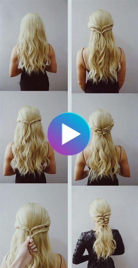 45 Easy Hairstyles Tutorials For Working Moms 45 Kinderleicht Frisuren Tutorials Fur Das Arbeiten In 2020 Cute Hairstyles For Teens Hair Styles Easy Hairstyles